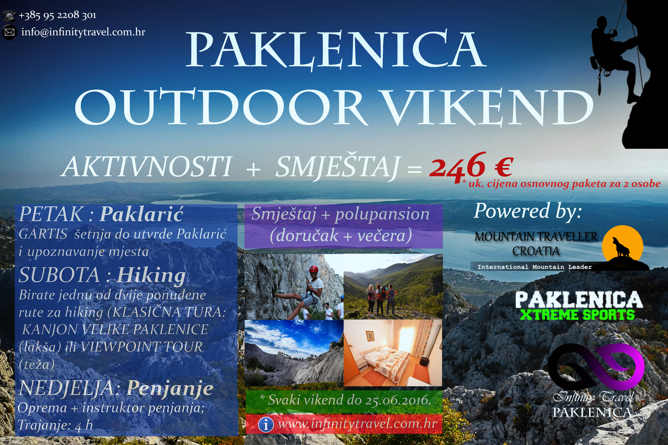 Paklenica Outdoor Vikend