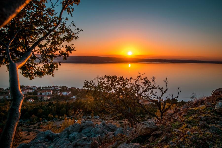 Sunset in Paklenica 02