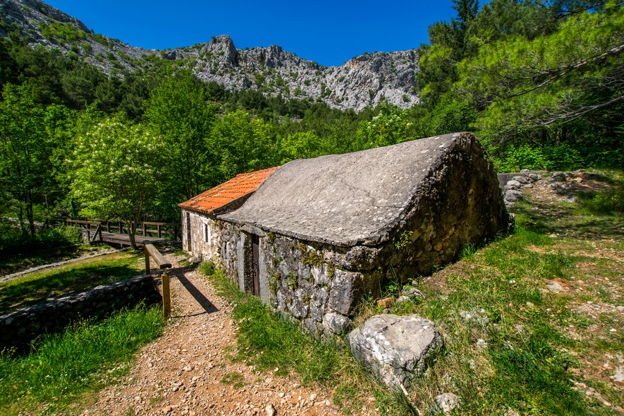 Old Mill in National park Paklenica