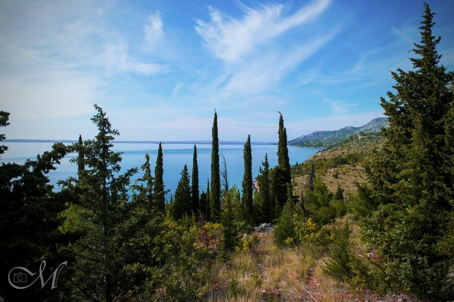 View on Riviera Paklnica