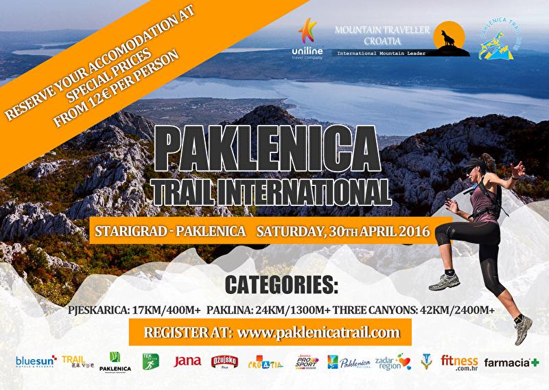 Paklenica Trail 2016