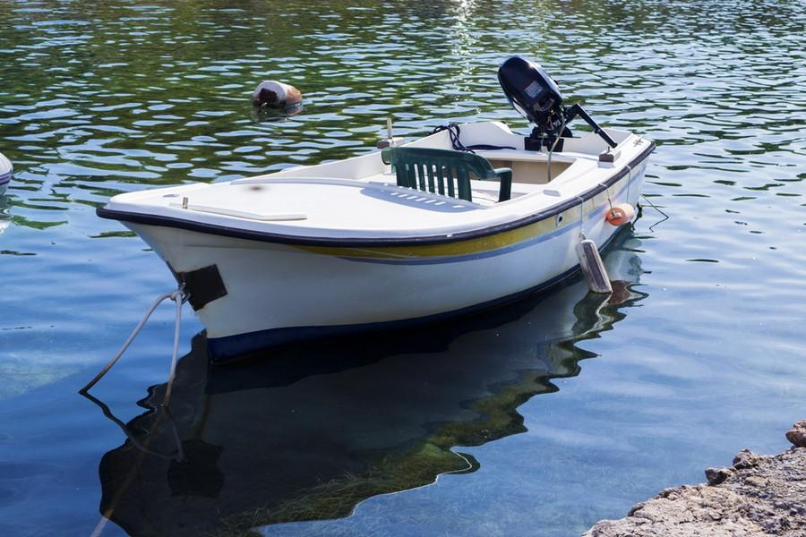 Boat in Riviera Paklenica