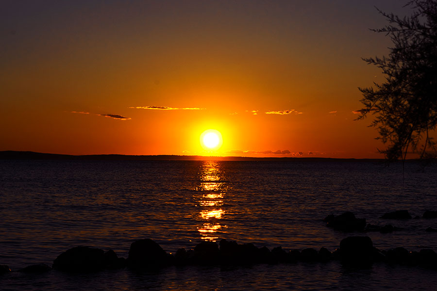 Sunset at Riviera Paklenica